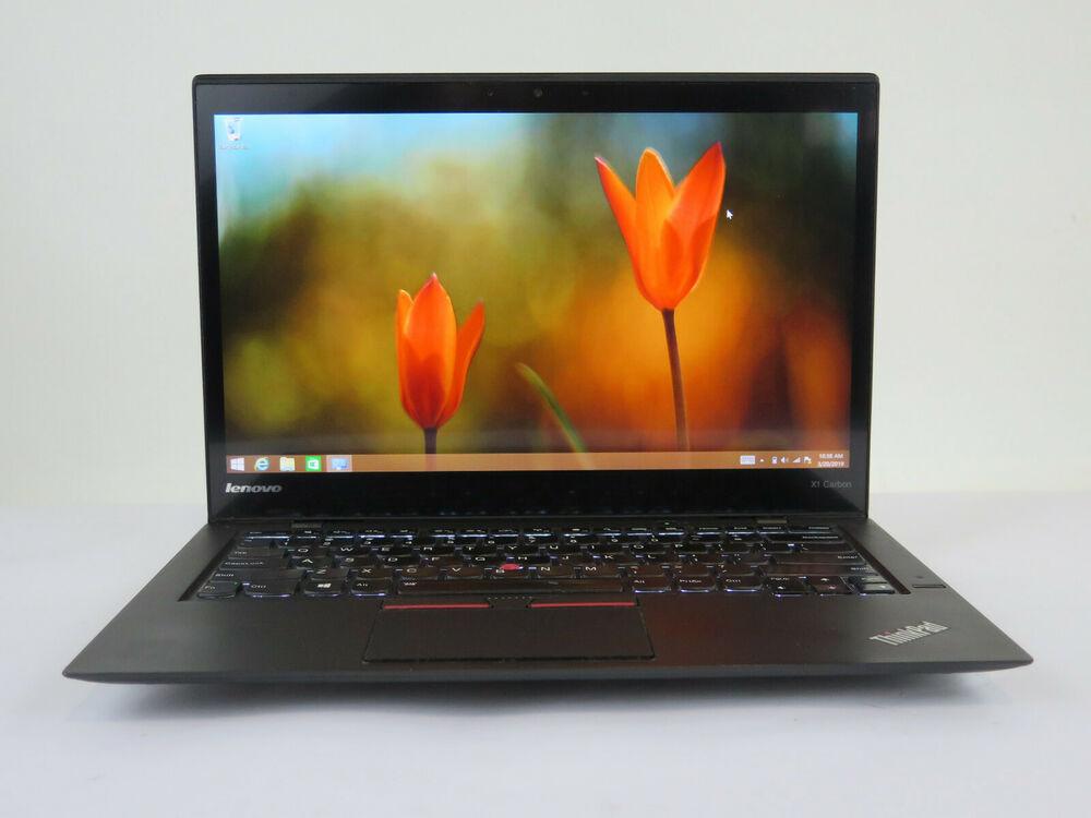 Ноутбук Lenovo X1 Carbon i7-5600U/8GB/240M2/WQHD/3/F/B/C/W10P_COA (20BT-05191-08-C)