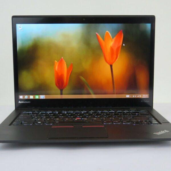 Ноутбук Lenovo X1 Carbon i7-5600U/8GB/256M2/WQHD/MT/F/B/C/W8P_COA (20BT-05695-08-B)