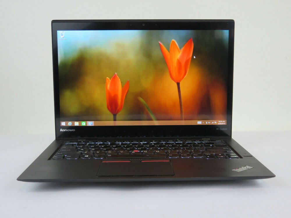 Ноутбук Lenovo X1 Carbon i7-5600U/8GB/256M2/WQHD/MT/F/B/C/W8P_COA (20BT-05886-08-C)