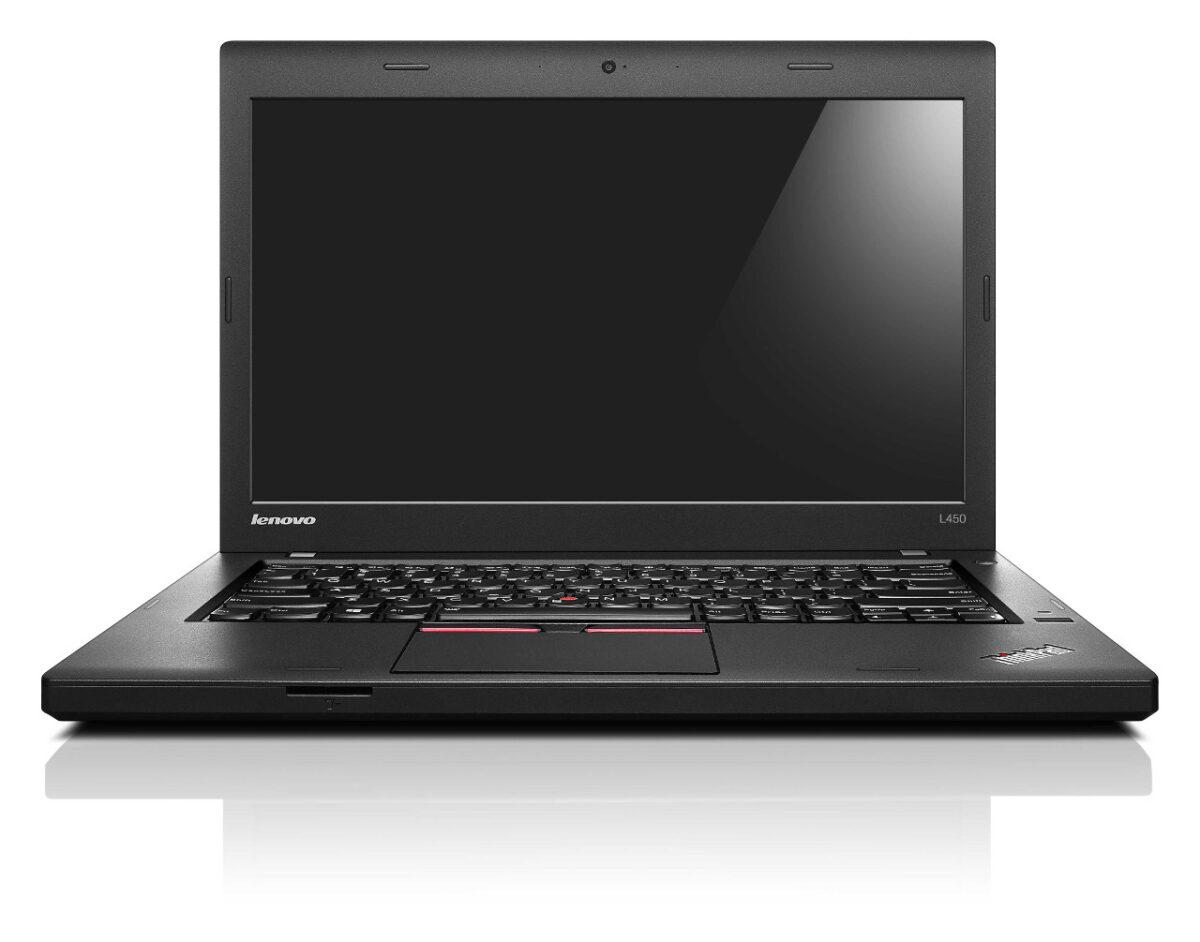 Ноутбук Lenovo L450 i5-4300U/8GB/128S/HD/B/C/W8P_COA (20DS-05583-08-B)
