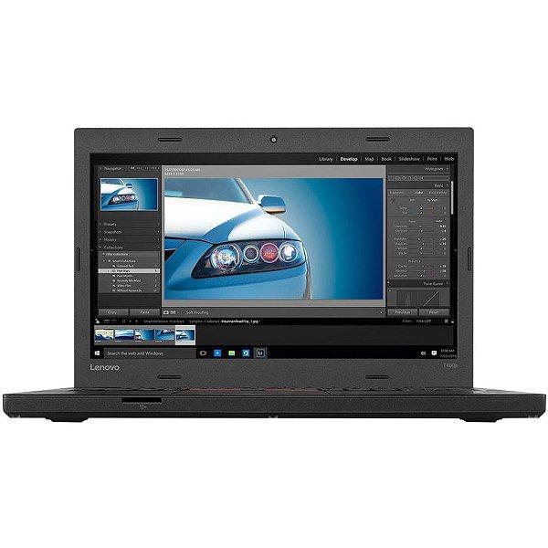 Ноутбук Lenovo T460 i5-6300U/4GB/128S/HD/B/C/W10P_COA (20FM-05051-08-B)
