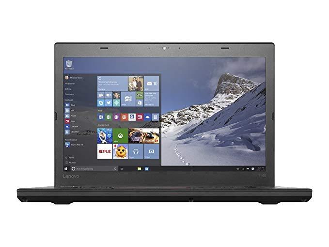 Ноутбук Lenovo T460 i5-6300U/8GB/240S/HD/B/C/W10P_COA (20FM-05070-08-A)