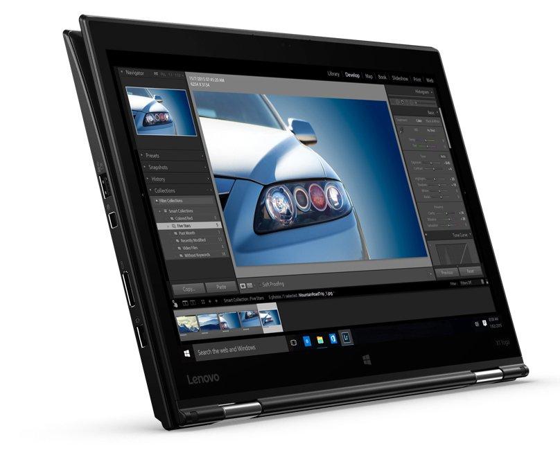 Ноутбук Lenovo X1 Yoga i7-6600U/16GB/512M2/WQHD/MT/4/F/B/C/W10P (20FQ005UGE-08-C)
