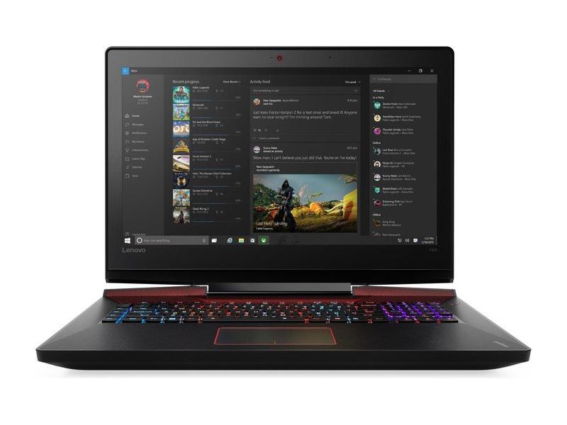Ноутбук Lenovo Y900-17ISK i7-6820HK/64GB/512M2+1TB/FHD/GC/B/C/W10 (80Q1005KMZ-08-C)