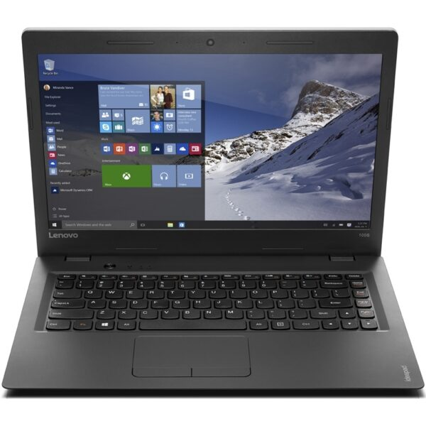 Ноутбук Lenovo 100S-14IBR N3050/2GB/32S/HD/B/C/W10 (80R9003QFR-08-B)