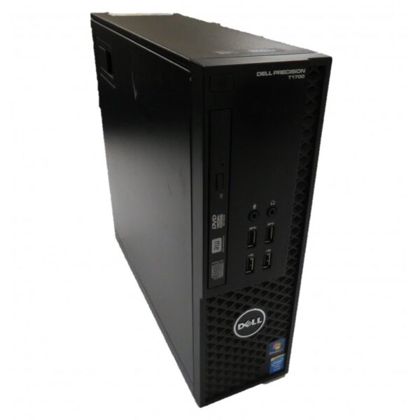 Рабочая станция Dell T1700 E3-1240v3/16GB/256S+500HDD/MB/GC/W8P_COA (9JWVCTO1-08-A)