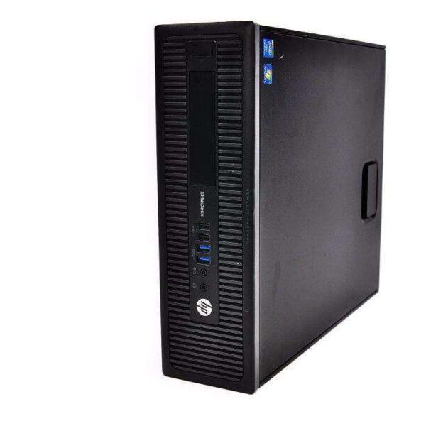 Офисный ПК HP Elitedesk 800 G1/4GB/i5-4570/500gb/DVD (E8Z33US#ABA-C)