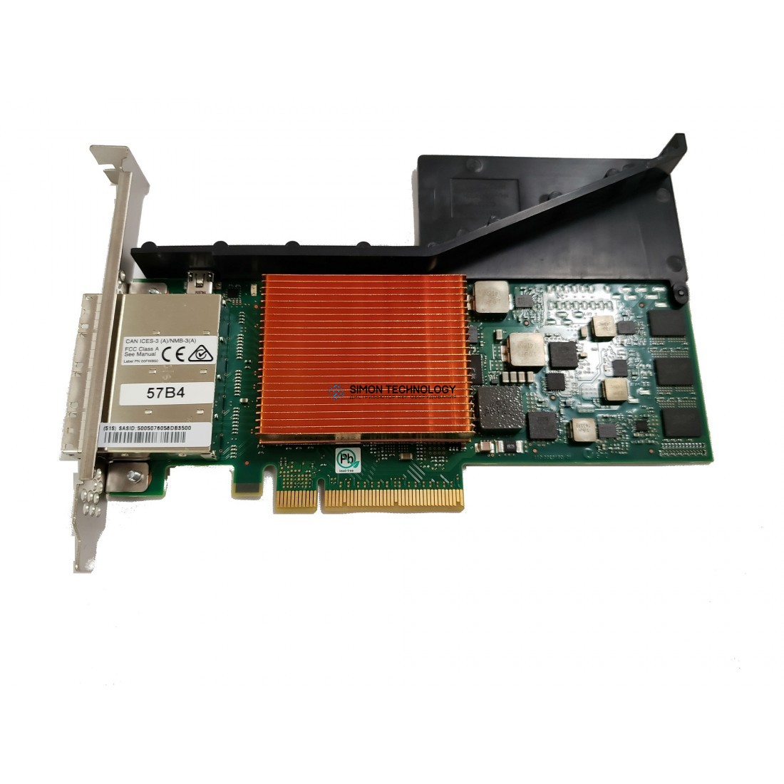 IBM IBM PCIe3 SAS Tape/DVD Adapter Quad-port 6Gbx8 (00HM920)