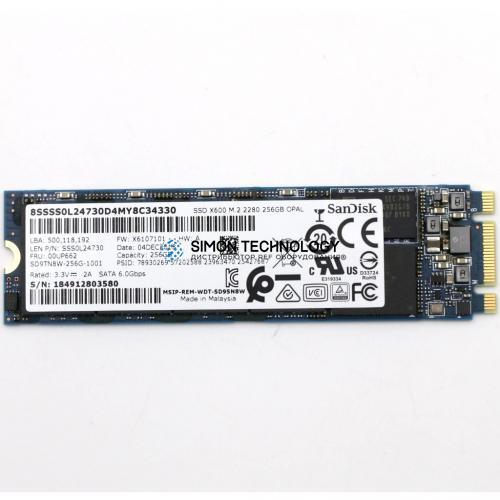 SSD Lenovo Lenovo SSD M.2 FRU SSD 256GB R (00UP662 )