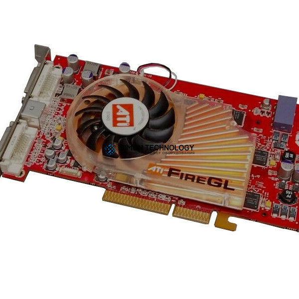 Видеокарта HPE HPE EOL PCA AGP 8X/4X FGLX3-256MB (030-2071-002)