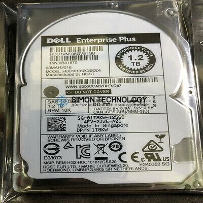 Dell DELL EQL 1.2TB 10K SAS 2.5K 12G (0B31870)