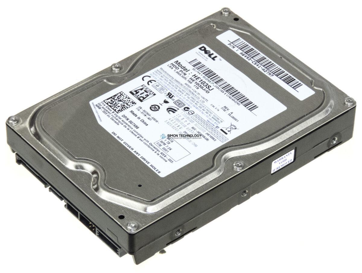 Dell DELL 1TB 7.2K RPM SATA 3.5IN HDD (0G7X69)