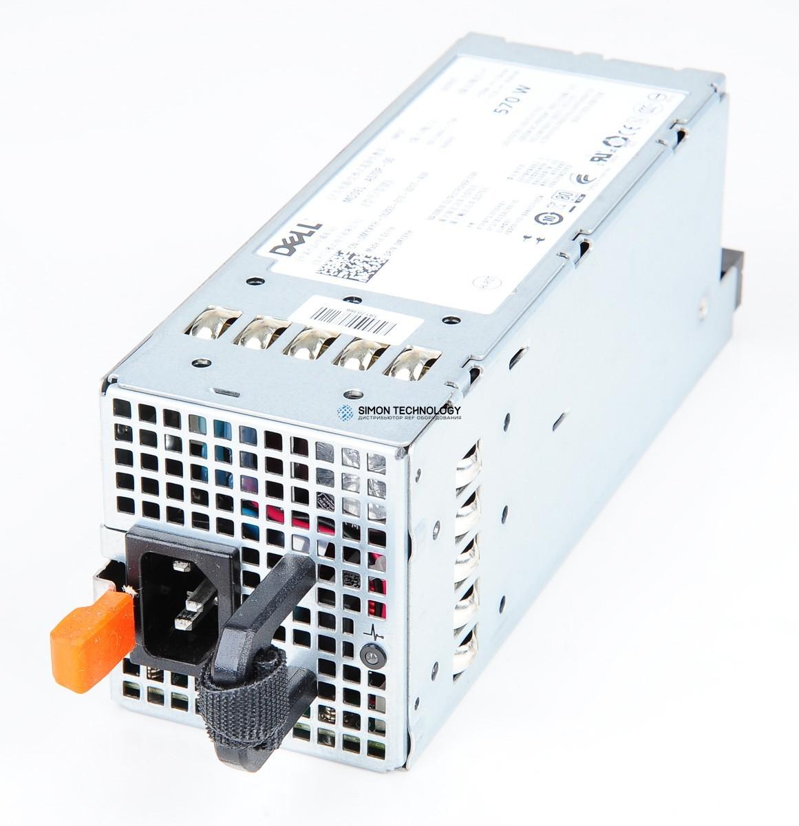 Блок питания Dell Dell 570W Power SUPPLY FOR PowerEDGE R710/T710 (0MYXYH)