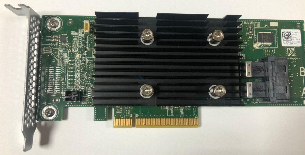 Dell DELL Dell Perc H330 12Gb SAS Controller Low Profile (0TD2NM)