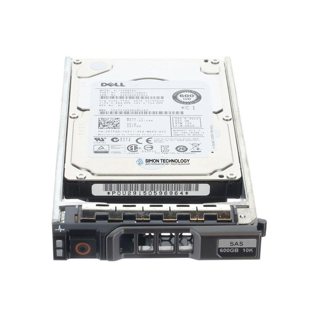 Dell DELL 600GB 10K 6G SAS 2.5INCH HDD (0WY2TR)