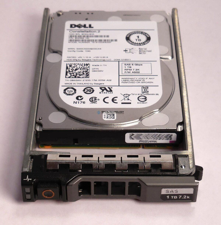 """Dell Dell HDD 1TB 2.5"""" 7.2K SAS 6gb/s (0XCTT1)"""