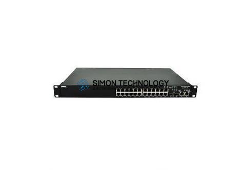 Dell Dell Switch PowerCon t 3424 24x 100Mbit 2x 1GbE 2x SFP - (0XJ505)