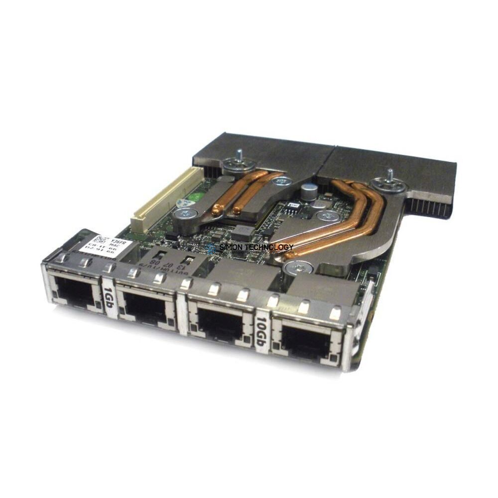 Сетевая карта Dell Dell rack Network Daughter Card 2x 1GbE 2x 10GbE R620 - (0Y36FR)
