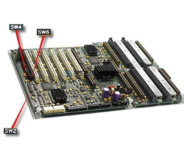 HPE HPE BD CPU w/Tray (123888-001)