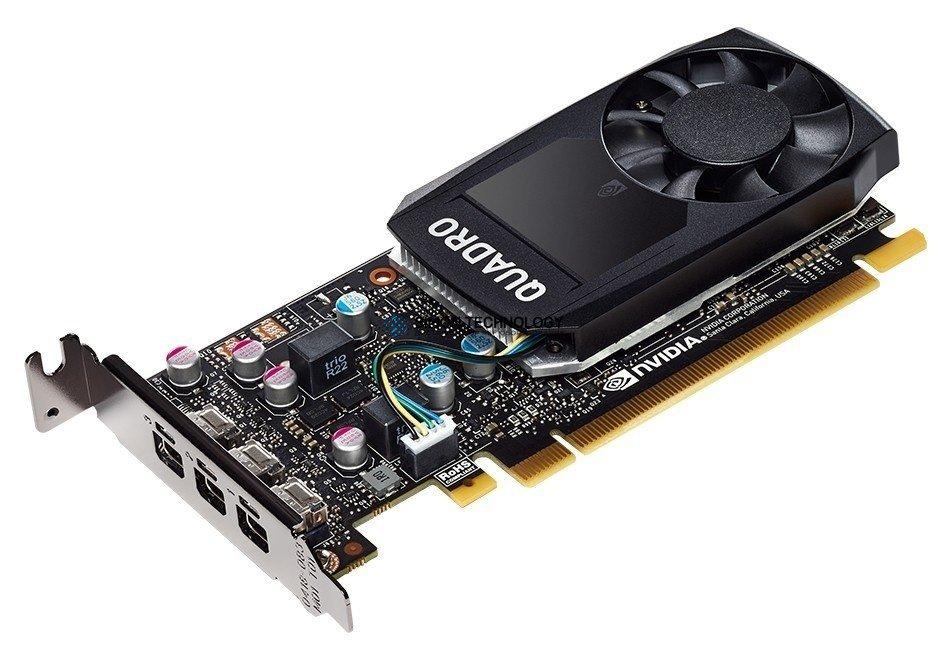Видеокарта HPE HP NVIDIA Quadro P400 2GB GDDR, 3xminiDP (1ME43AA)