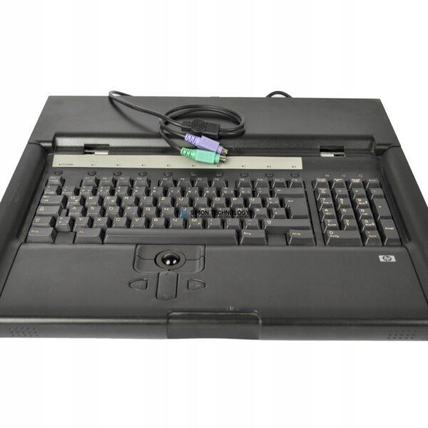 HP RACKMOUNT KEYBOARD AND MONITOR (237259-006)