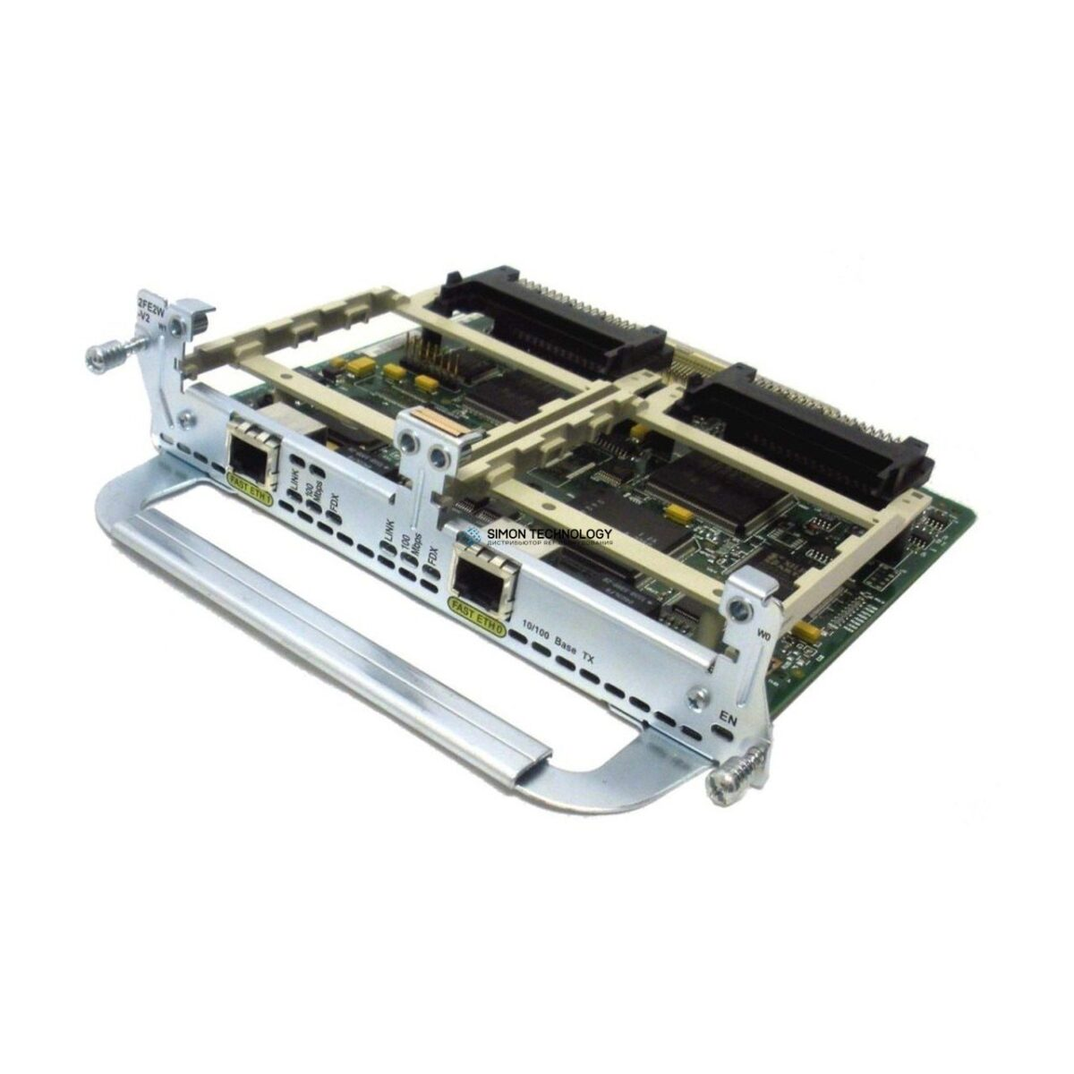 Cisco MODULE 2-PORT FAST ETHERNET (2FE 2W-V2)