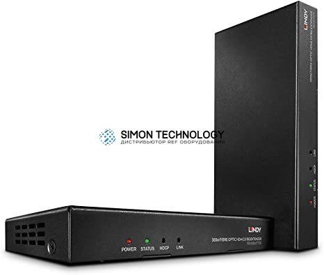 Lindy Fibre Optic HDMI 2.0 18G & IR Extender. 300m (38174)