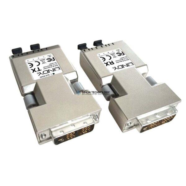 Lindy DVI-D Single Link Extender 500m Fibre (38301)