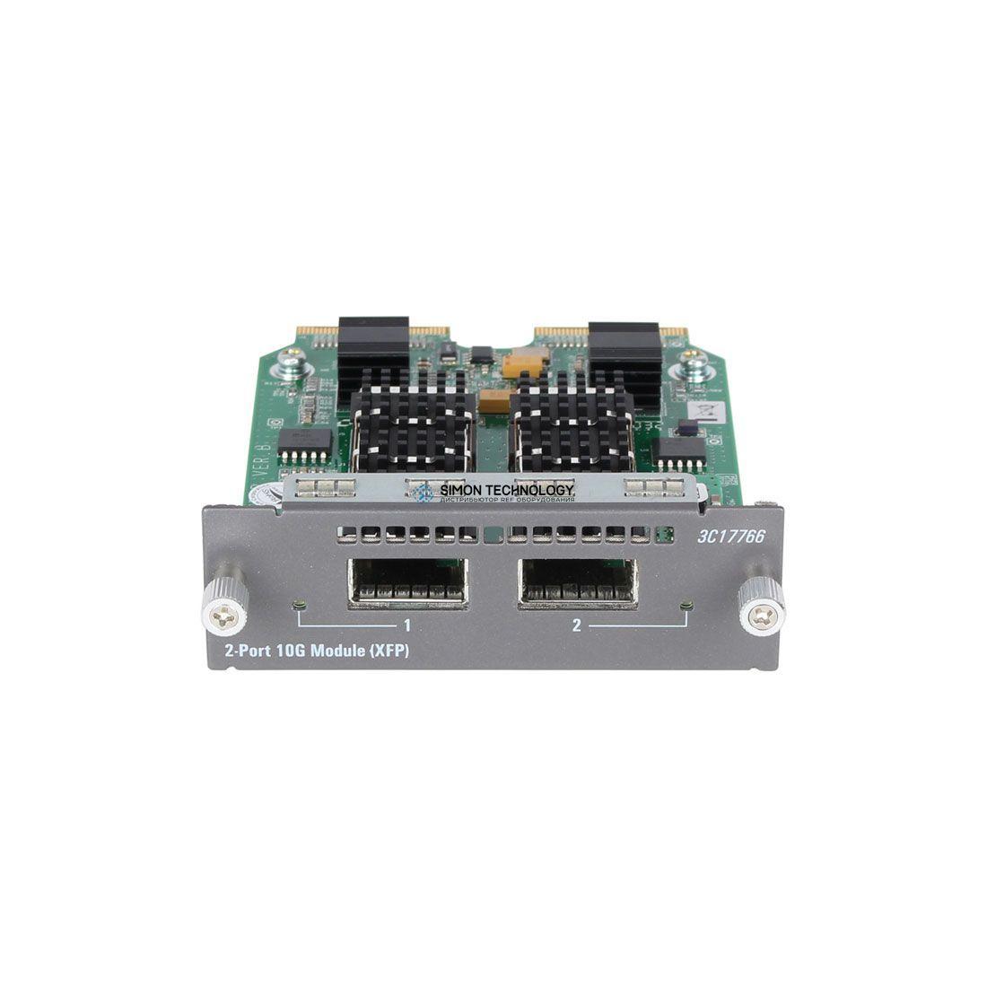 Модуль HP HPE 4500/4800 2-port 10GbE XFP Module (3C17766)