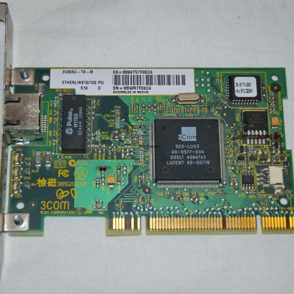 Сетевая карта HPE HPE 10/100 PCI TX-M 25PK (3C905CX-TX-M-25)