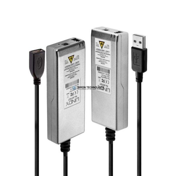 Lindy USB2.0 Fibre Optic Extender. M/M. 200m (42702)