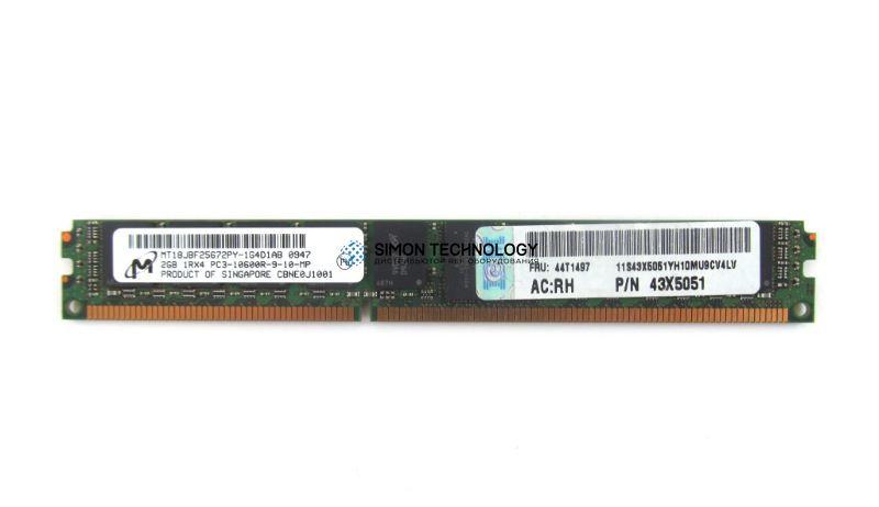 Оперативная память IBM IBM 2GB PC3-10600R MEMORY DIMM PN: 44T1487/44T1497 (43X5051)