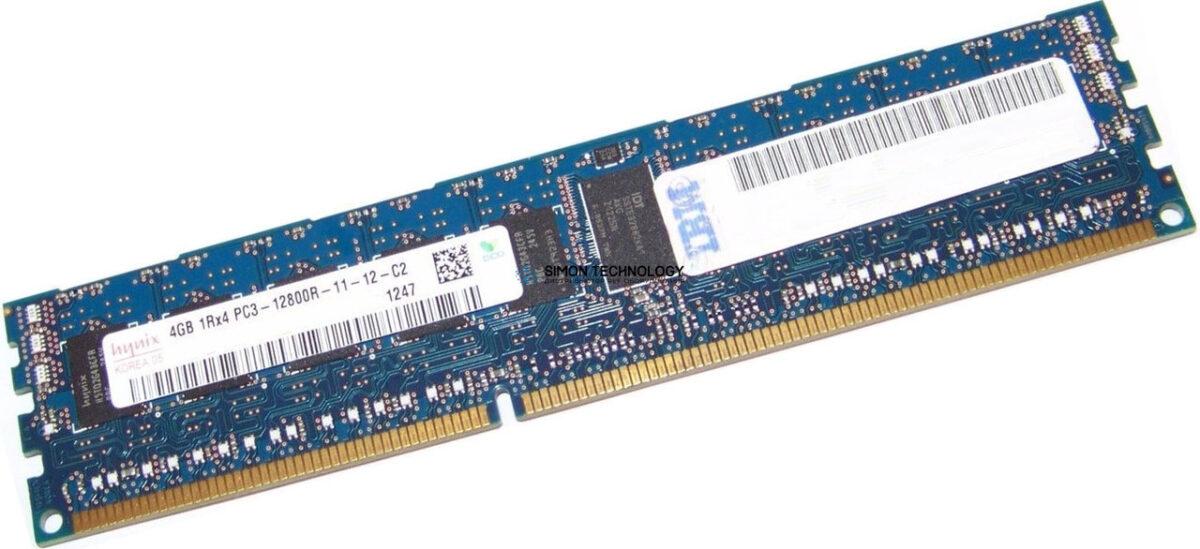 Оперативная память IBM IBM 4GB (2Rx8 1.5V) PC3-10600 VLP RDIMM (44T1591)