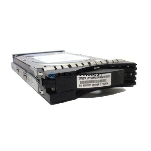 "IBM 2TB 7.2K FC 3.5"" HDD for DS8000 (45W5203)"
