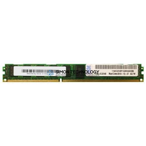 Оперативная память IBM IBM 2GB (2Rx8) 1.5V PC3-10600 VLP RDIMM (47J0149)