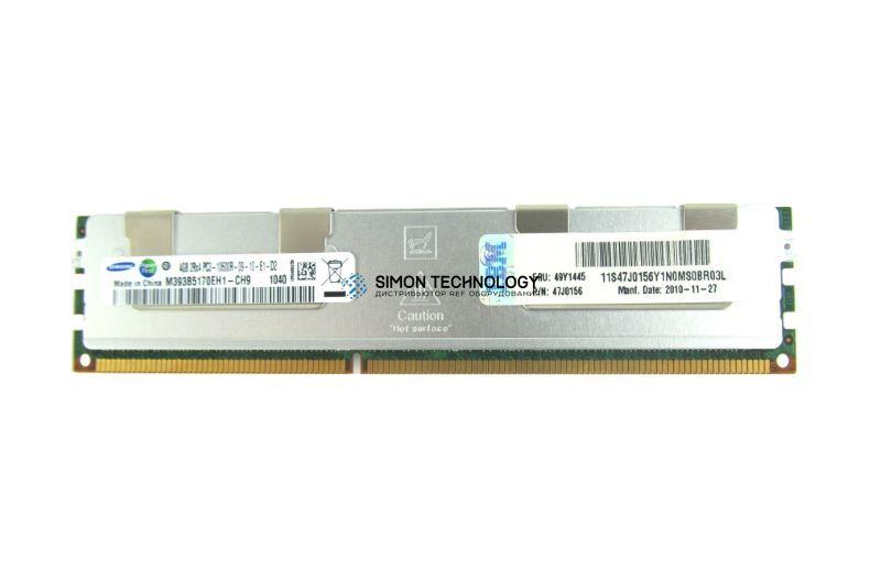 Оперативная память IBM IBM 4GB (1X4GB) 2RX4 PC3-10600R MEMORY (47J0156)