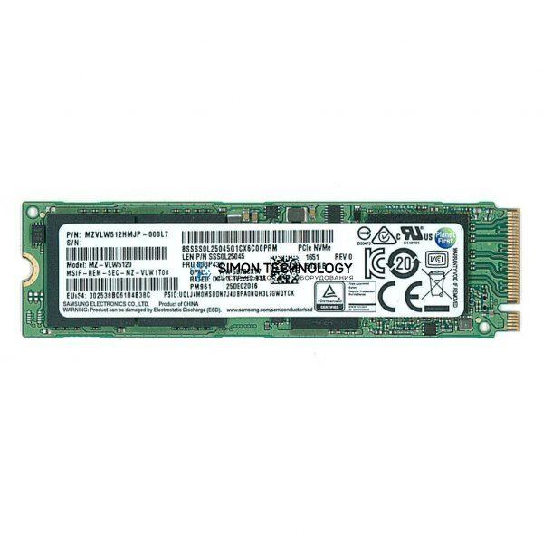 Lenovo ThinkPad 1TB PCIe NVMe OPAL2 M.2 2280 SSD (4XB0W79582)