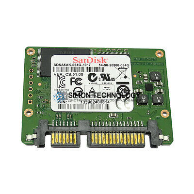 SSD HP HPE 3Par 64GB SSD Node Boot Drive 7000 SATA SATA (54-90-20800-064G)
