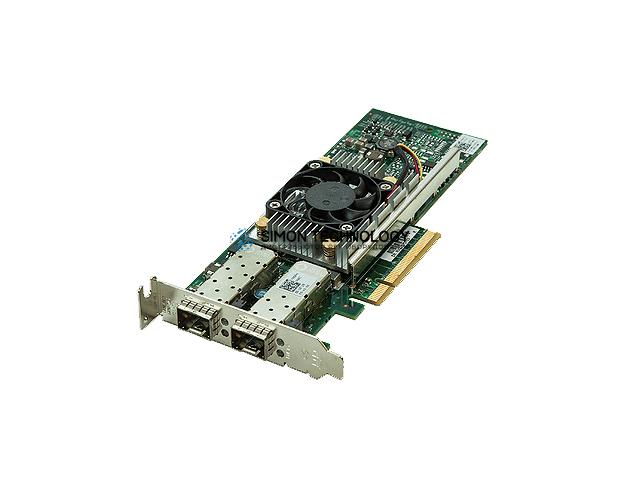 Сетевая карта Dell Dell QLogic 57810 10Gb Dual Port Low profile (540-11145)