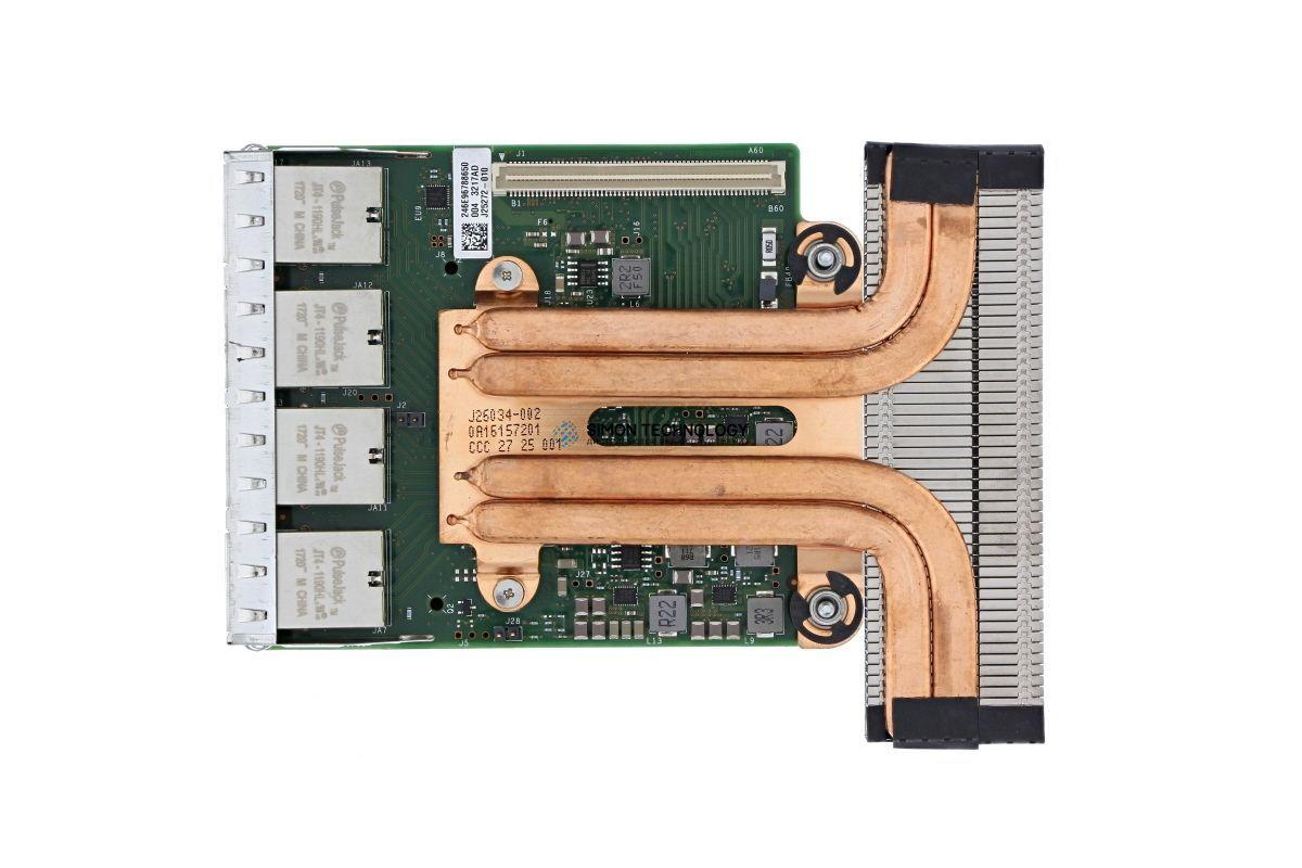 Dell DELL X550-T4 Quad Port 10GbE RNDC (540-BBVC)