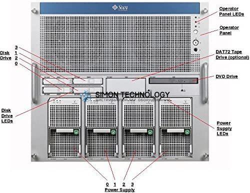 Sun Microsystems SUN DVD BACKPLANE ROHS:YL (541-1145)