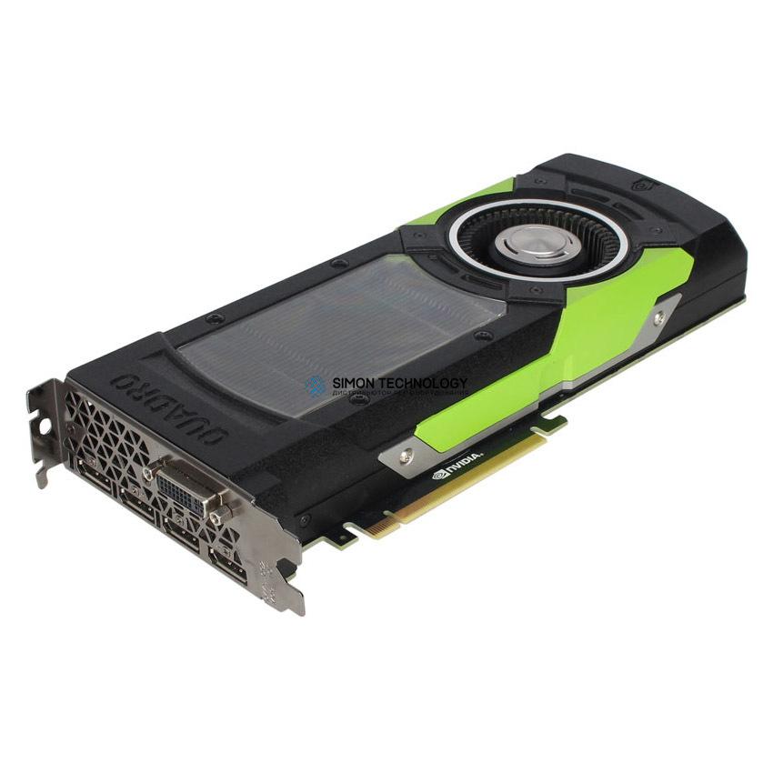 Видеокарта Nvidia NVIDIA QUADRO M6000 12GB GDDR5 PCIE 3.0 X16 GRAPHICS CARD (813432-001)