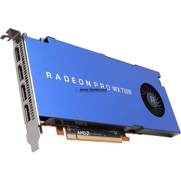 Видеокарта HPE HPE SPS-PCA AMD Radeon Pro WX7100 GPU Module (879036-001)