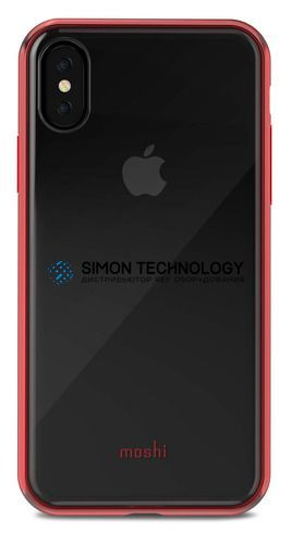 Аксессуар Vitros for iPhone X - (Crimson Red) (99MO103321)