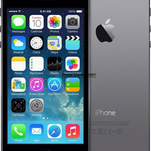 Apple APPLE IPHONE 5S A1457 16GB SPACE GREY - GRADE C (A1457-16GB-IPHONE5S-GREY-C)