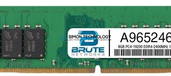 Оперативная память Dell Memory 8GB DDR4 UDIMM 2400MHz ECC 1RX8 (A9652462)