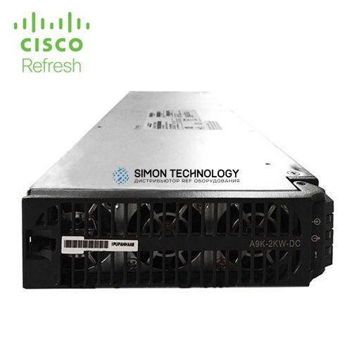 Блок питания Cisco Cisco RF 2kW DC Power Module (A9K-2KW-DC-RF)
