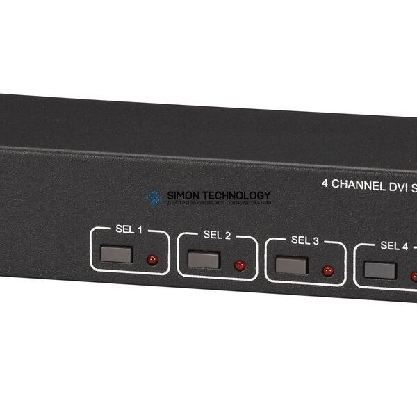 Black Box DVI Switch w/Audio and Serial Ctl - 4 Channel (AC1032A-4A)