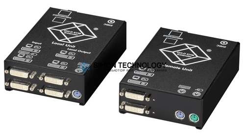 Fibre Extender - DVI-D PS/2 - SM: 10km (ACS2228A-R2-SM)