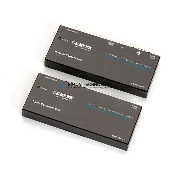Black Box KVM Extender 75 Feet PS2 to PS2 CAT5 (ACU075A-PS2)